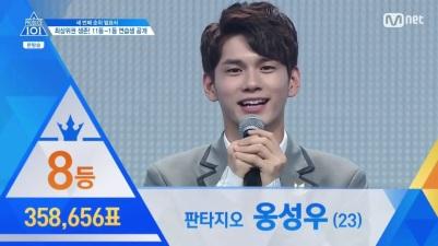 Top 8 Sungwoo