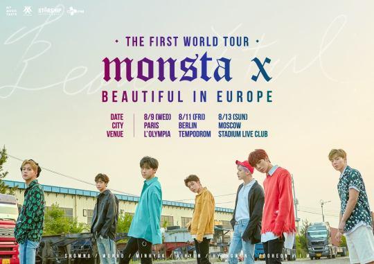 Monsta X Europe Tour
