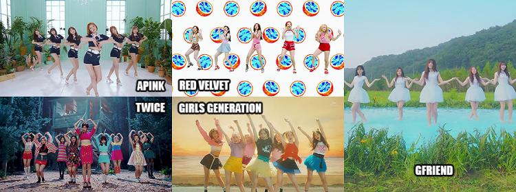 Best Dance Female Group