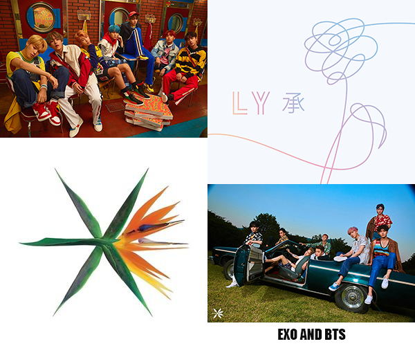 EXO and BTS